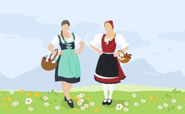 Veľkonočné sviatky u nás a u rakúskych susedov